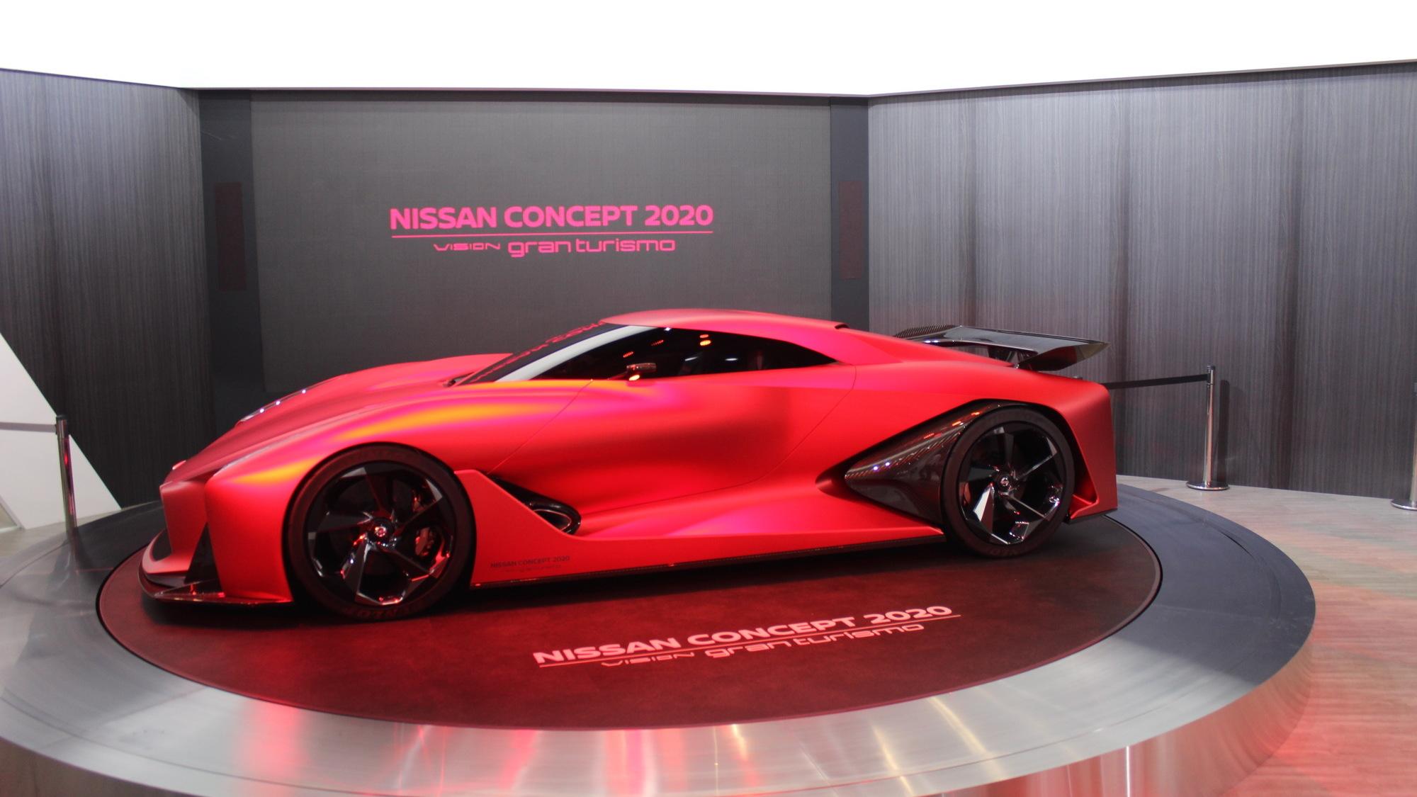 Nissan Concept 2020 Vision Gran Turimso, 2015 Tokyo Motor Show