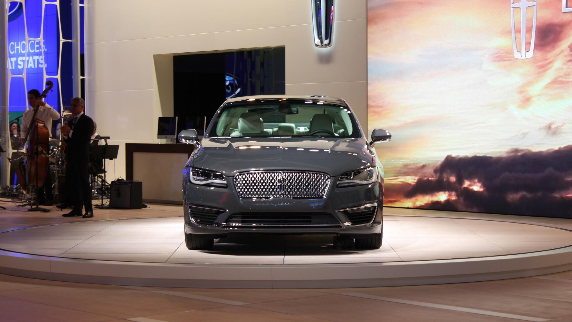 2017 Lincoln MKZ, 2015 Los Angeles Auto Show