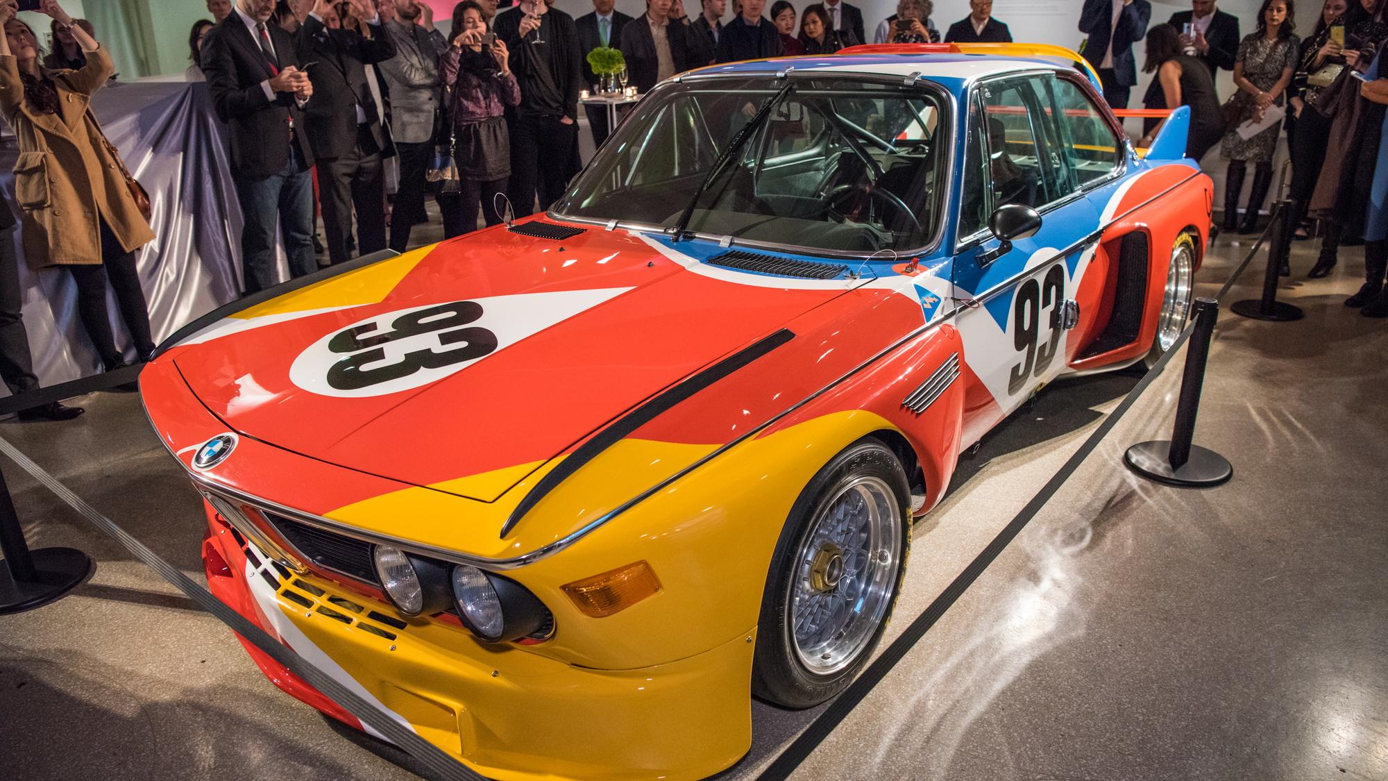 BMW Art Car by Alexander Calder