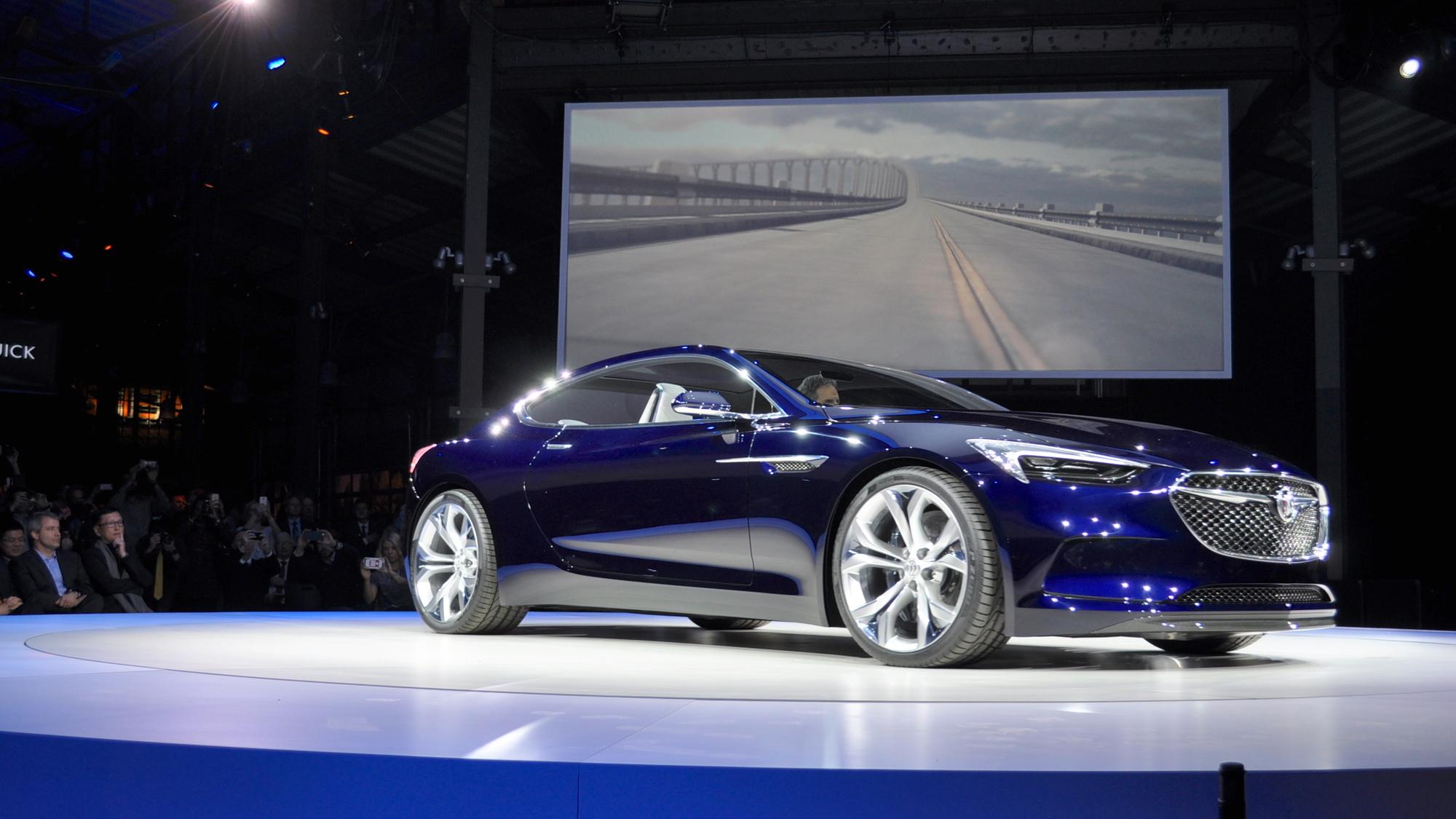 Buick Avista Concept, 2016 Detroit Auto Show
