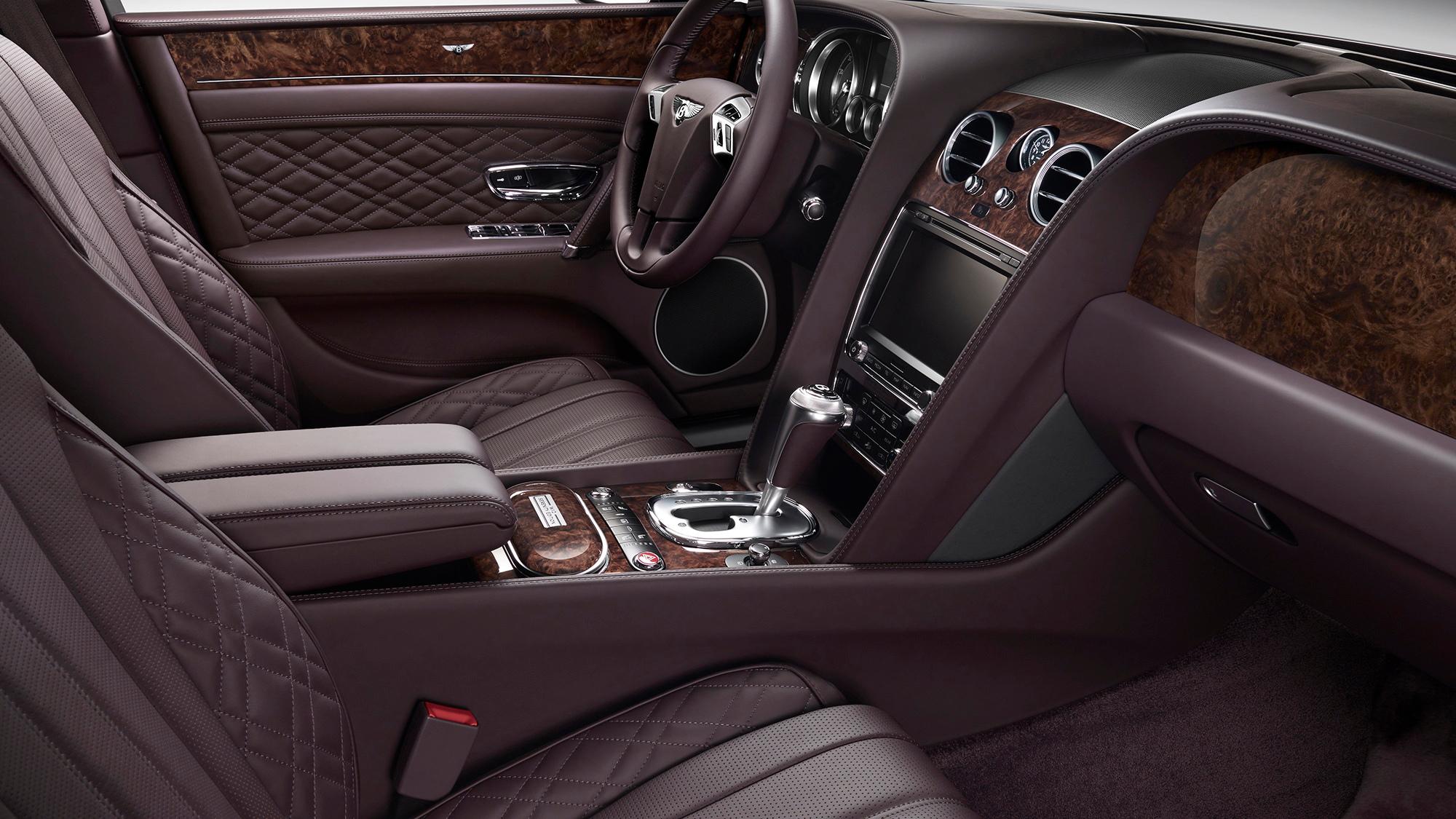 Bentley Mulliner Serenity Front Seat
