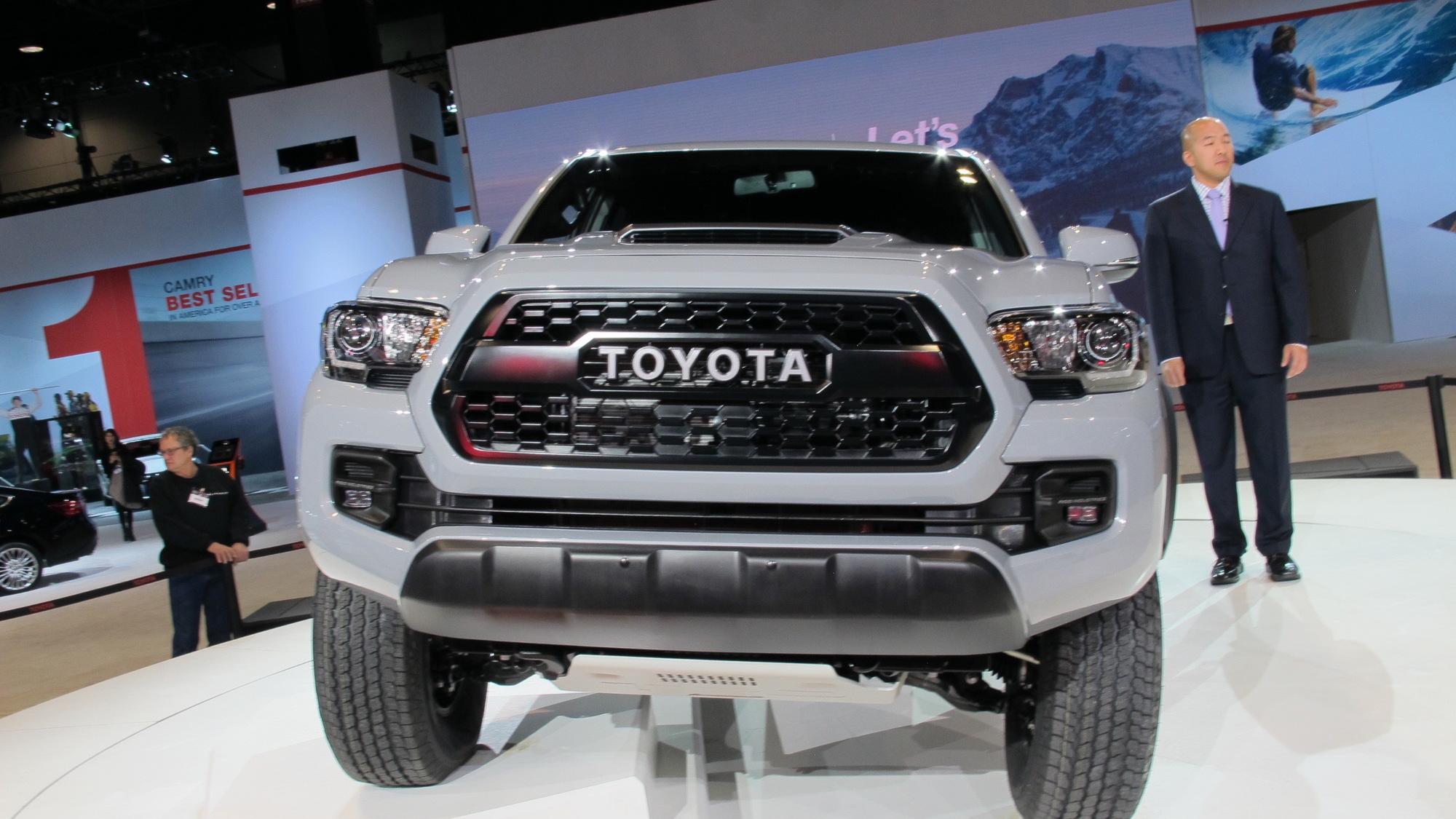 2017 Toyota Tacoma TRD Pro, 2016 Chicago Auto Show
