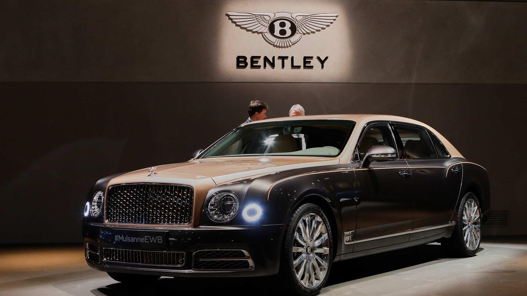 2017 Bentley Mulsanne, 2016 Geneva Motor Show