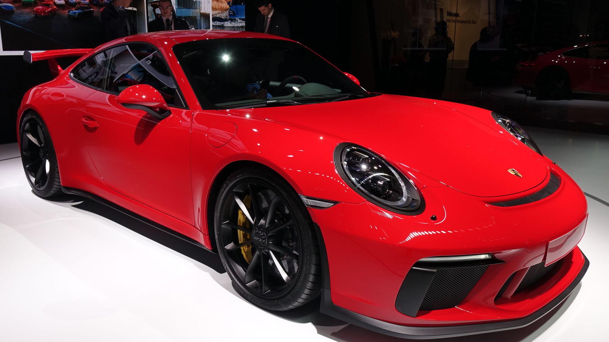 2018 Porsche 911 GT3, 2017 New York auto show