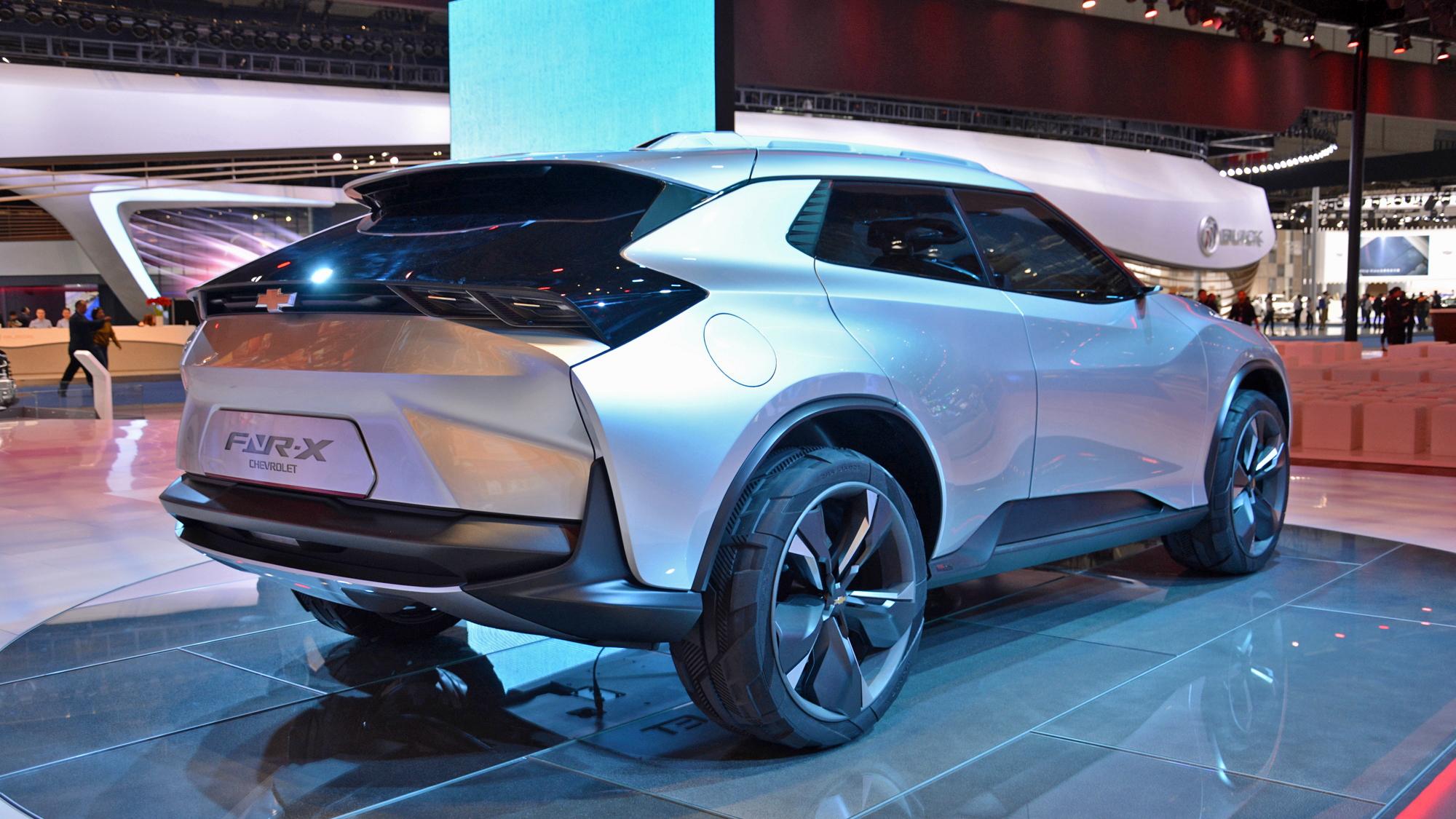 Chevrolet FNR-X Concept for plug-in hybrid crossover, 2017 Shanghai auto show   [photo: Ronan Glon]