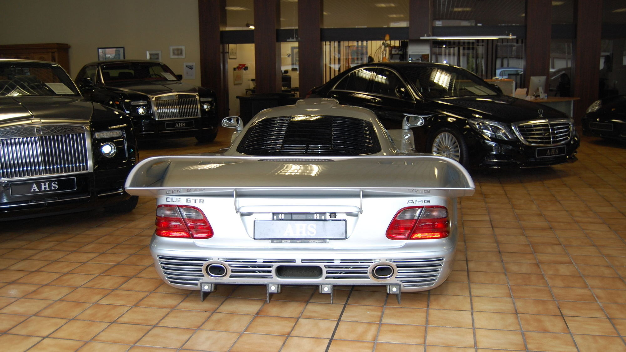 You Can Buy This Mercedes Benz Clk Gtr For 27 Million