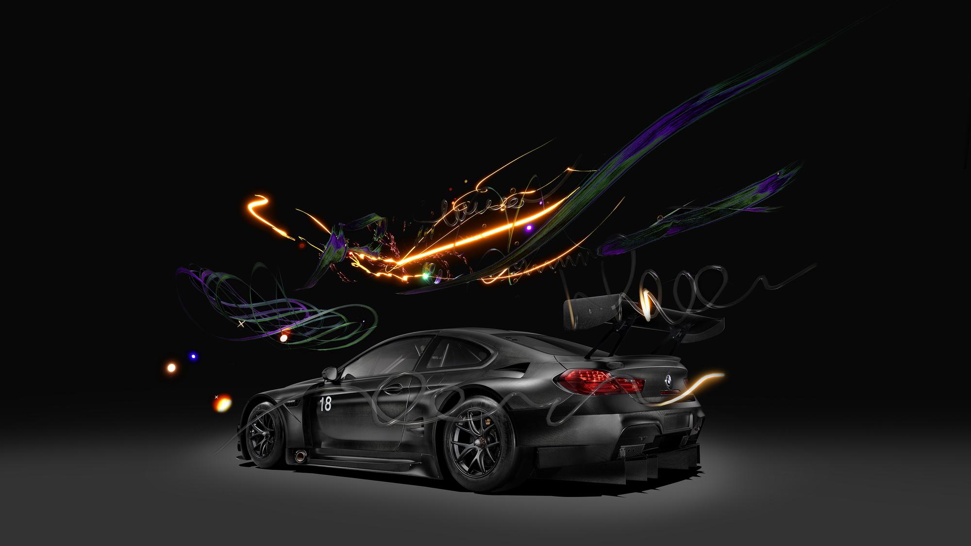 BMW M6 GT3 Art Car #18