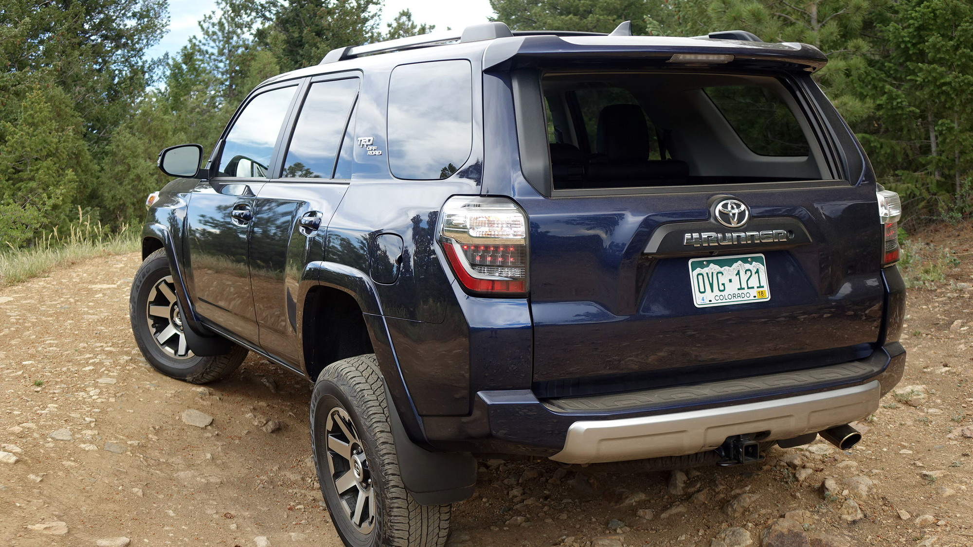 2017 Toyota 4Runner TRD Off Road trail review: archaic in