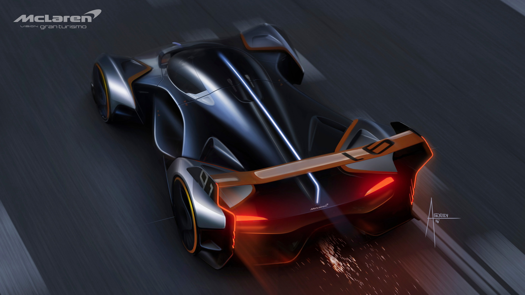 McLaren Ultimate Vision GT virtual concept car