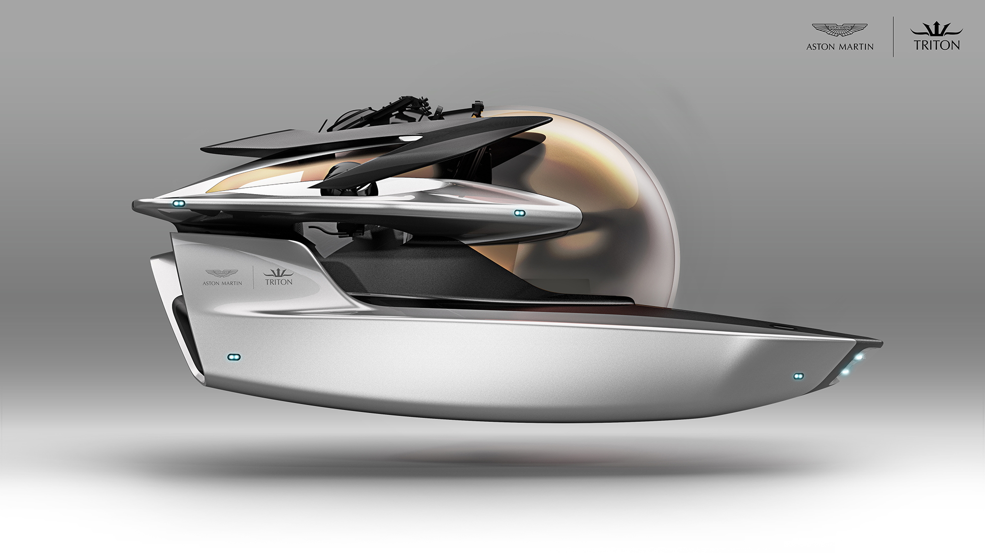 Project Neptune created by Triton Submarines and Aston Martin