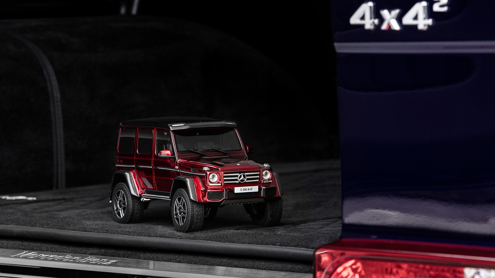 GT Spirit is offering the Mercedes-Benz G500 4x4² in 1:18 scale