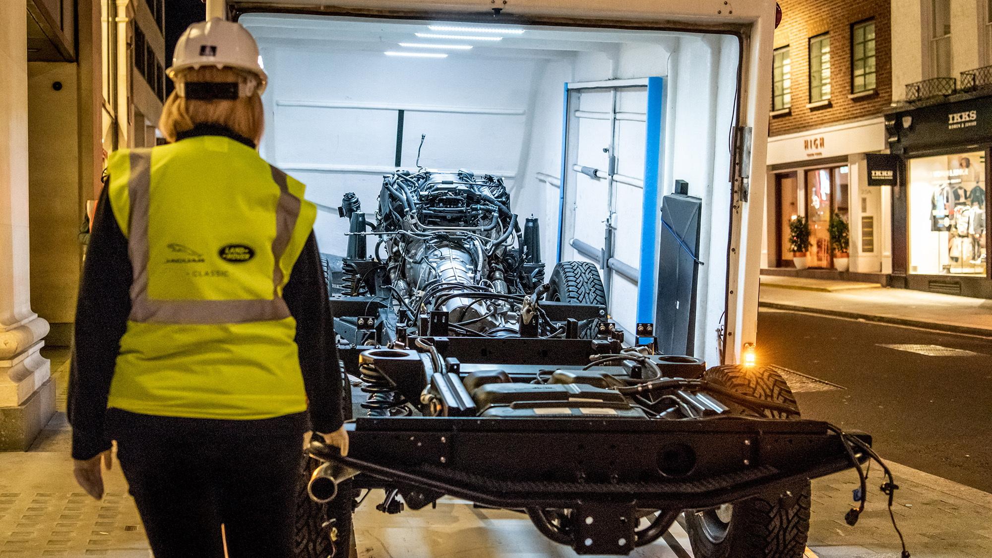 Selfridges Edition Land Rover Defender Works