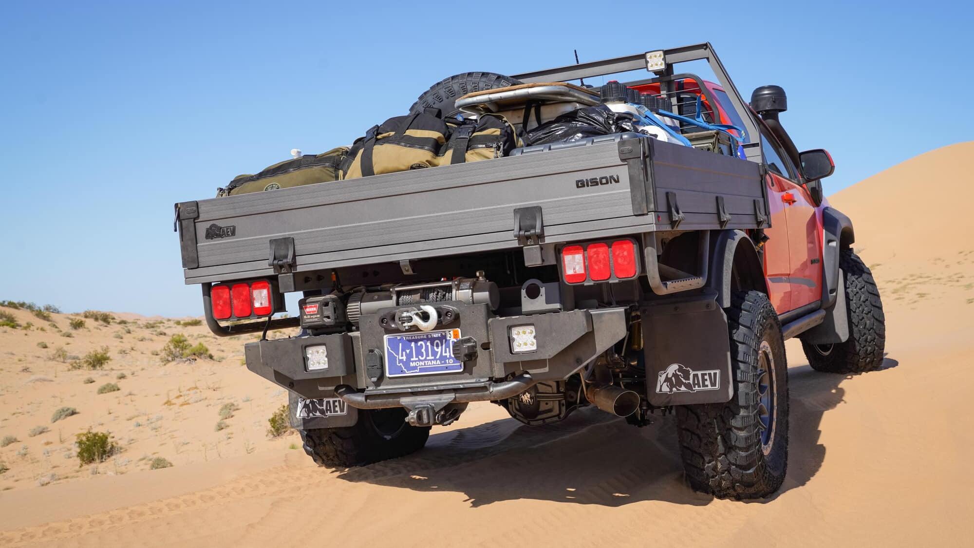 Chevrolet Colorado ZR2 AEV Bison Tray Bed concept