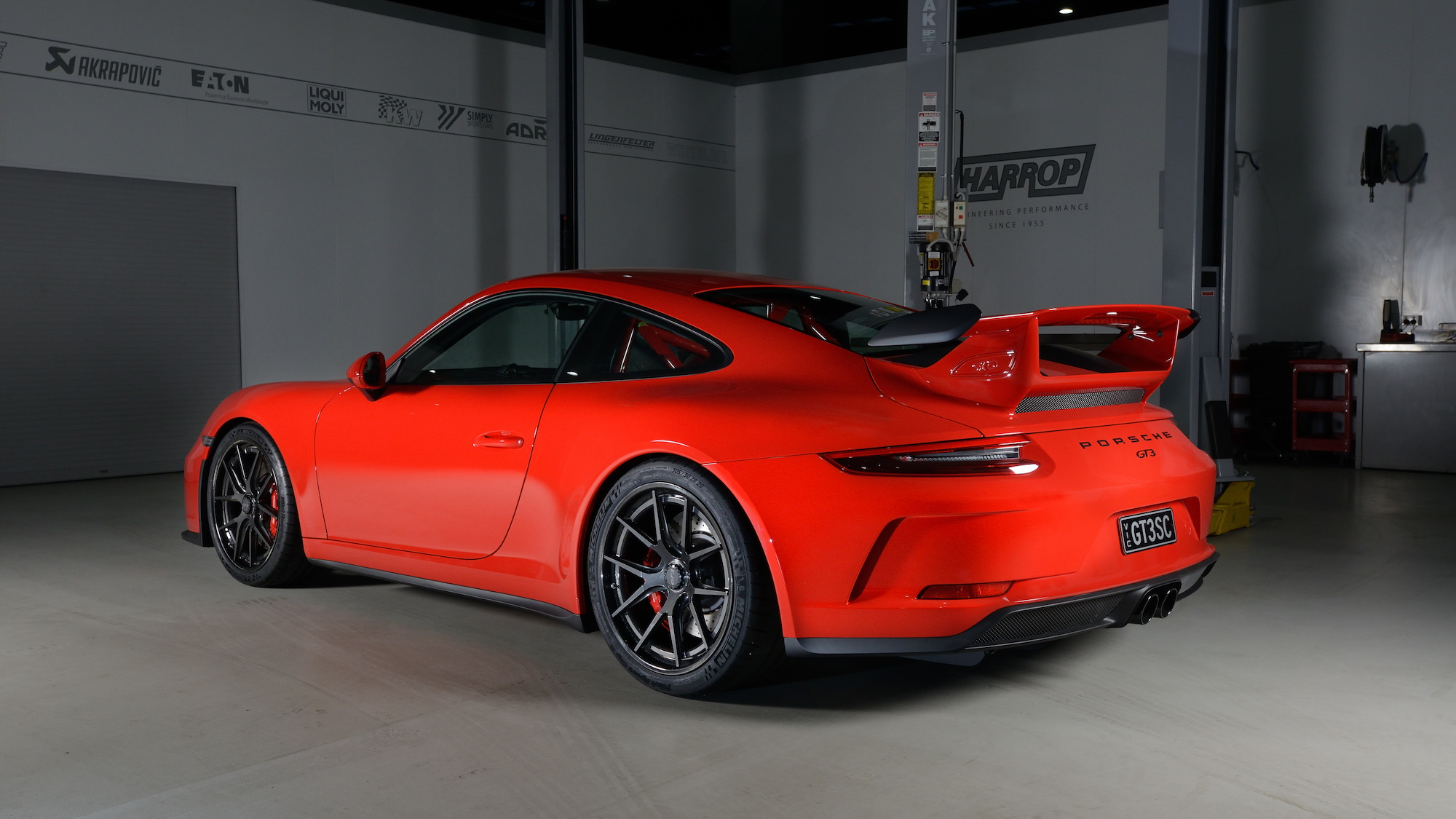 Porsche 911 GT3 with Forgeline Carbon + Forged wheels