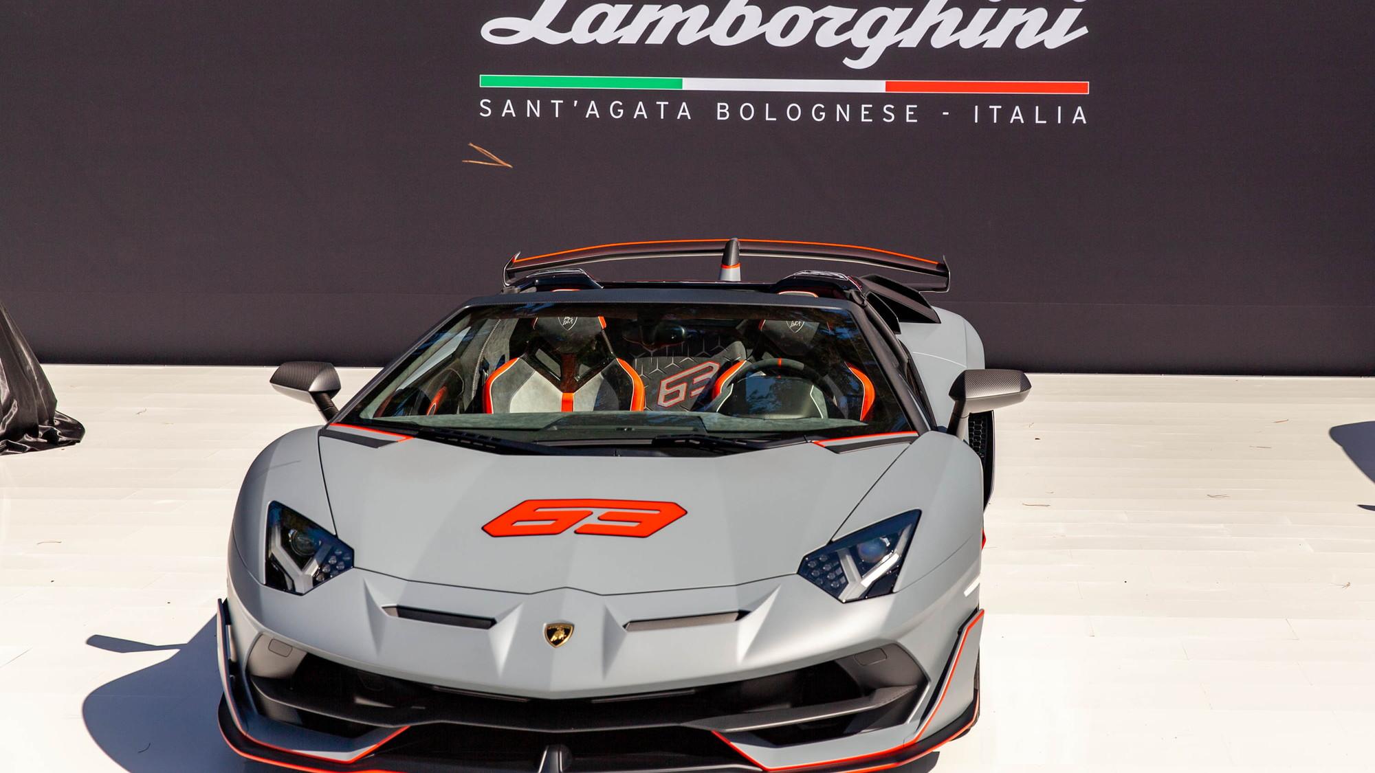 Lamborghini Aventador SVJ 63 Roadster breaks cover