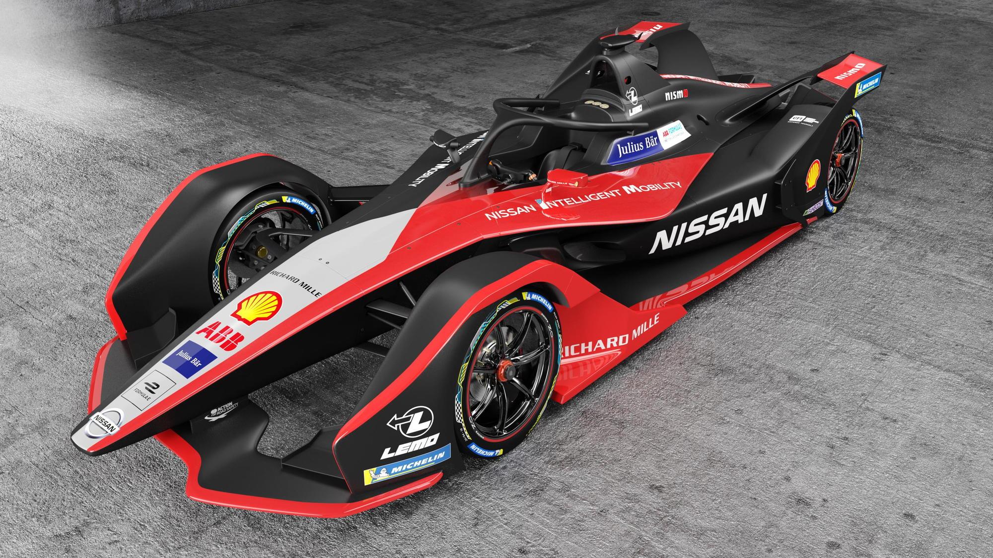 Nissan 2019 Formula E racer