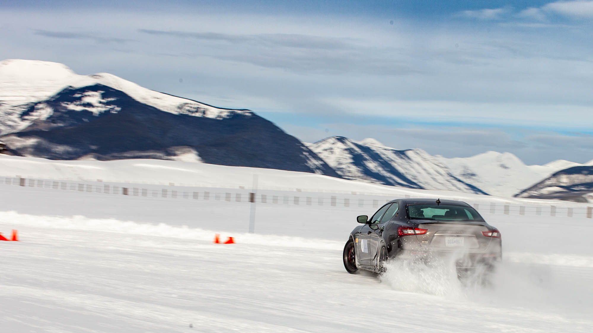 Maserati Ice Drive