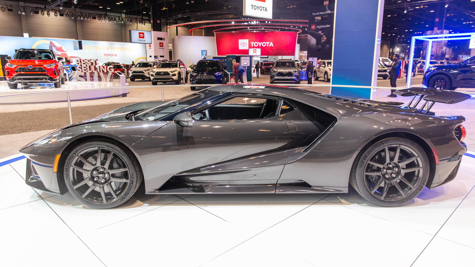 2020 Ford GT Liquid Carbon, 2020 Chicago Auto Show