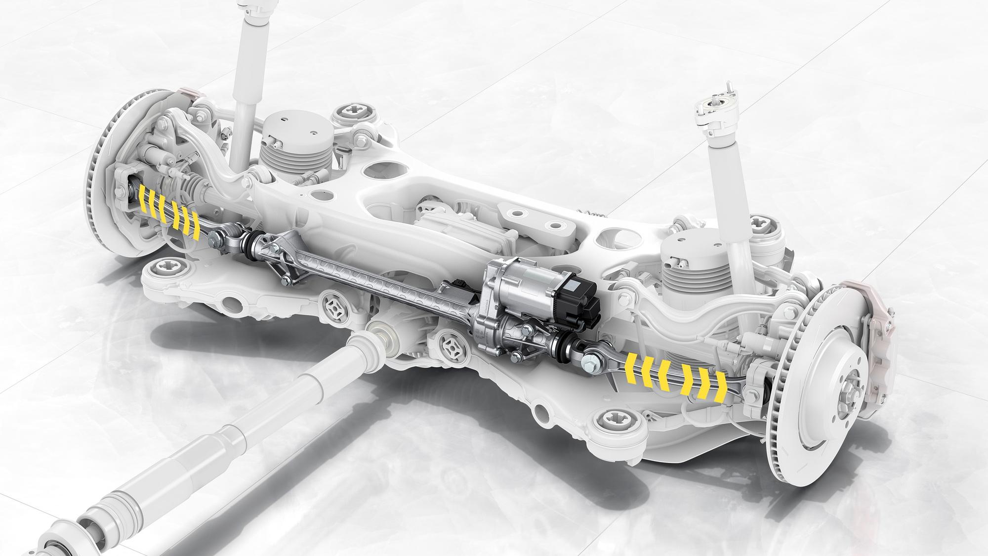 Porsche Panamera Rear-Axle Steering