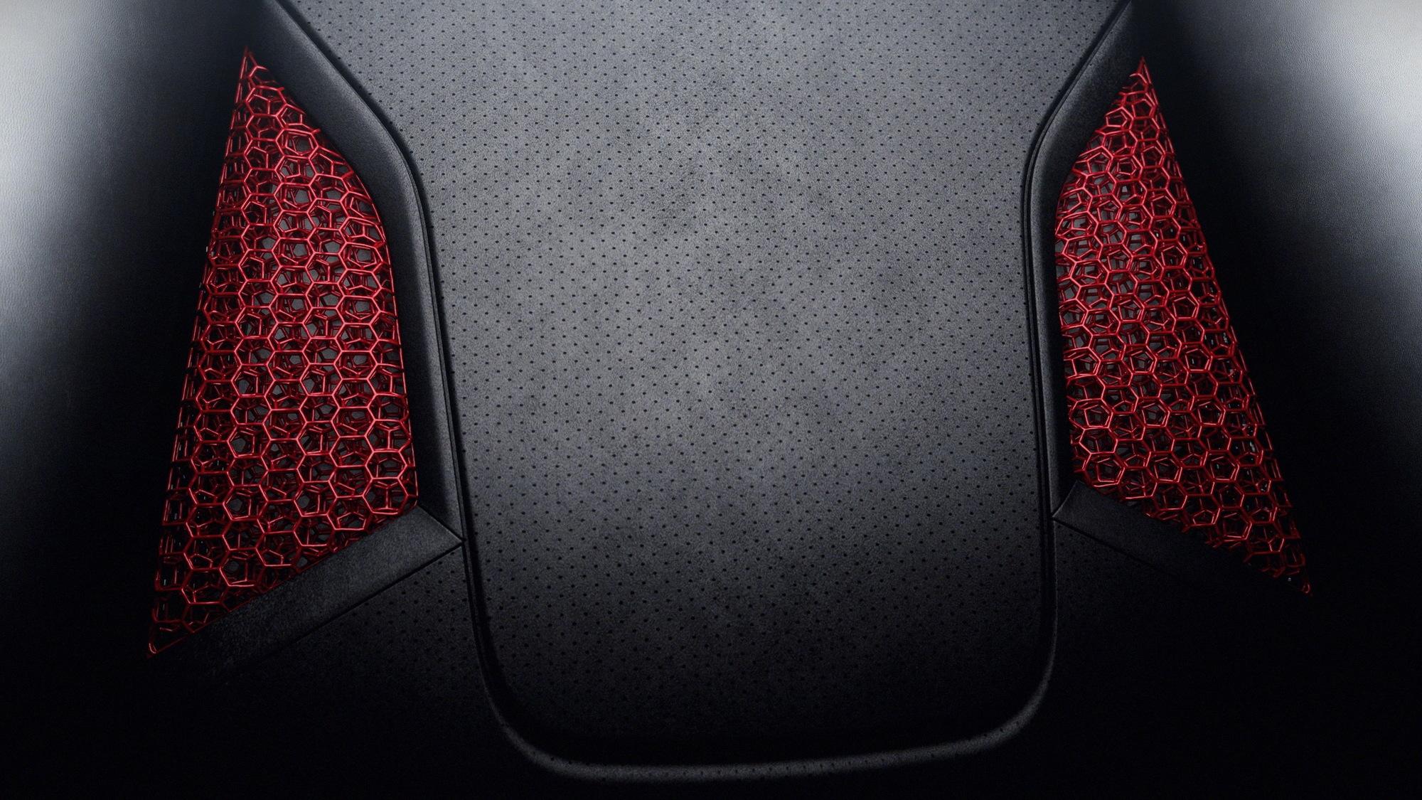 Porsche 3D-printed seat