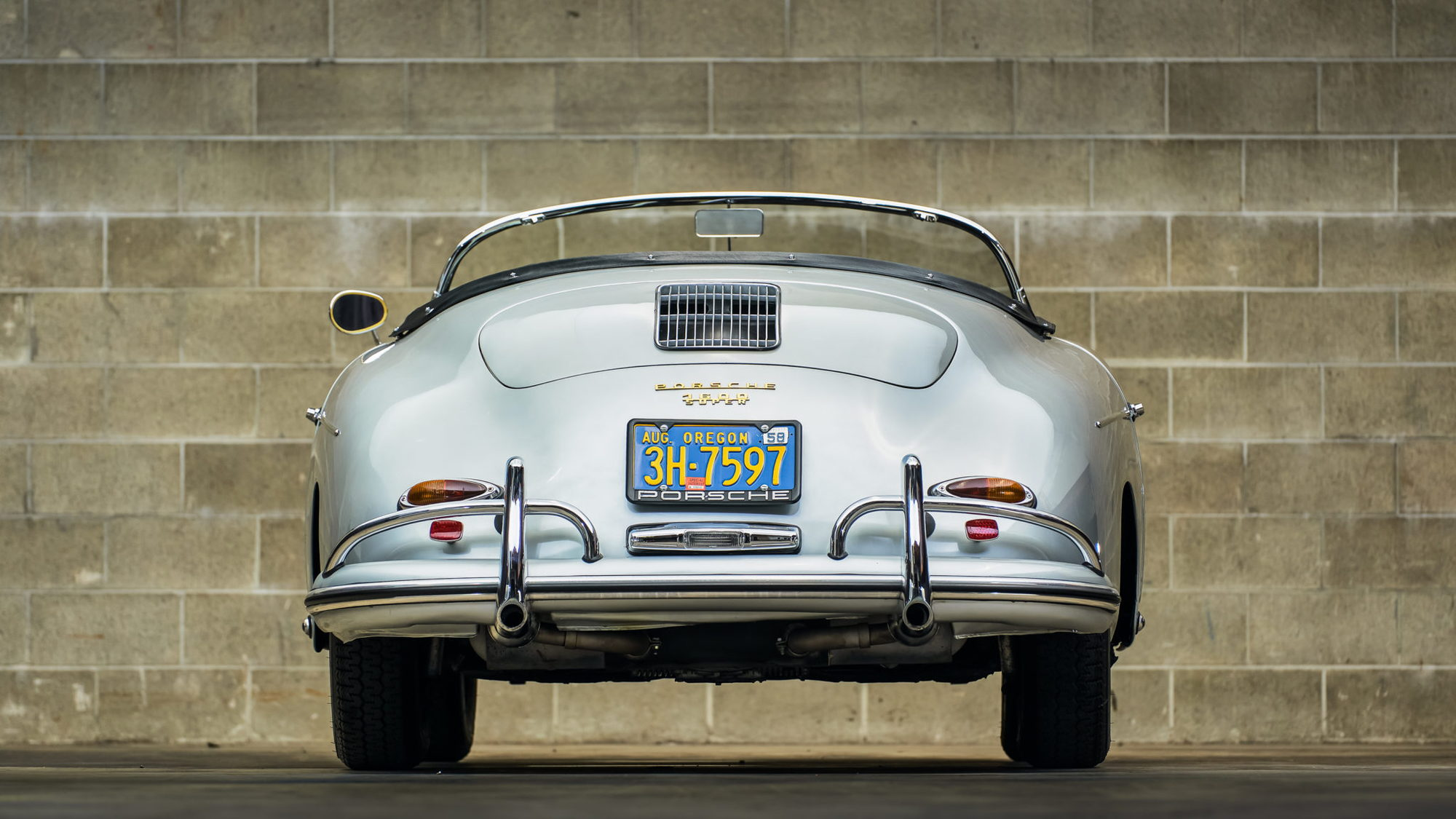 1958 Porsche 356A Speedster - Photo credit: Bring A Trailer