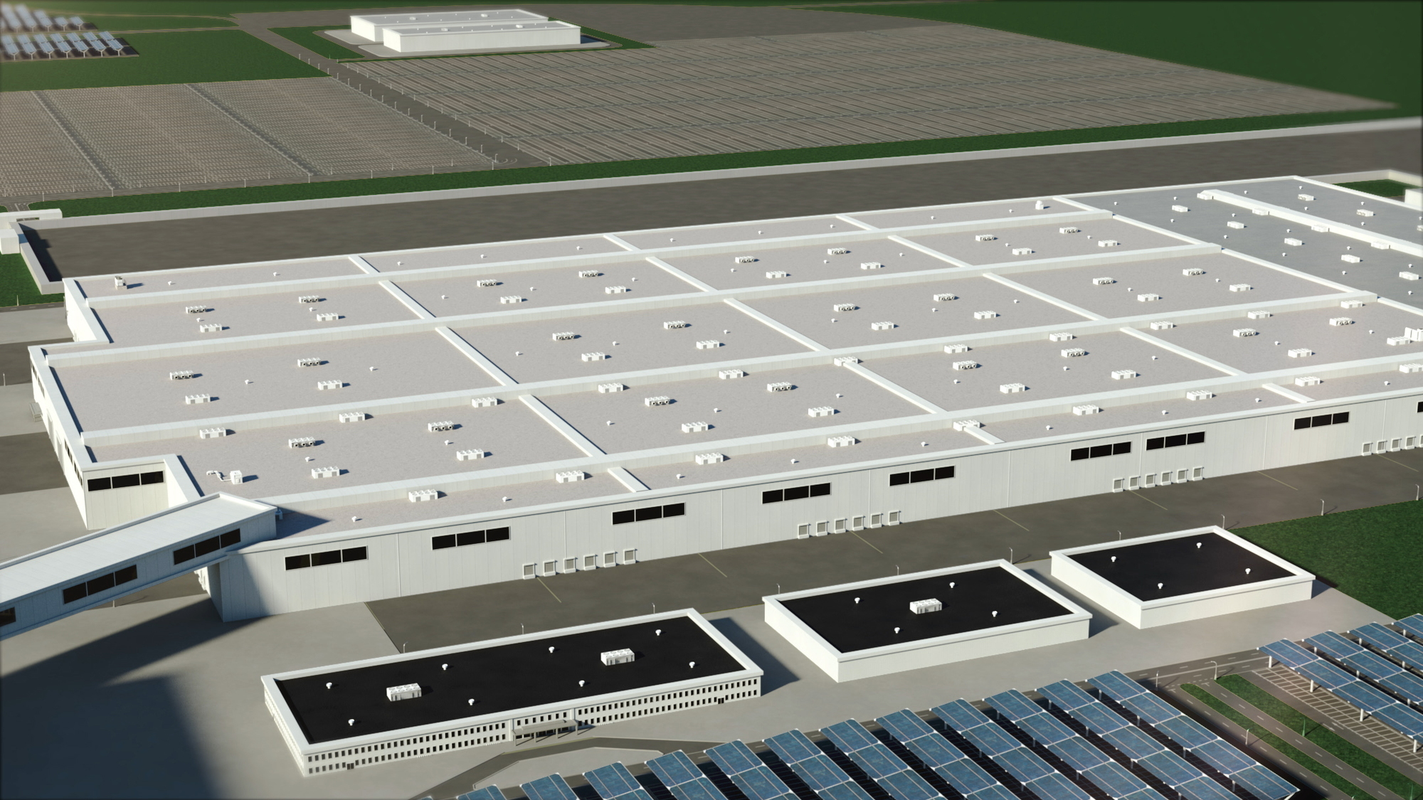 Ford Blue Oval City  -  rendering of manufacturing complex in Tennessee, September 2021