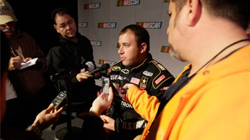 Ryan Newman. Image courtesy of Stewart-Haas Racing.