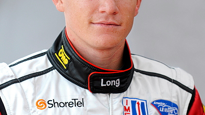 Race driver Patrick Long of Flying Lizard Motorsports