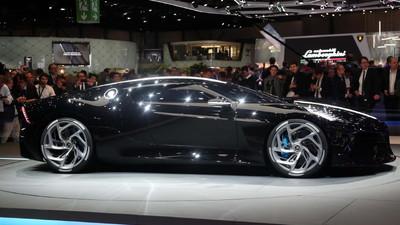 Bugatti La Voiture Noire--a $12.4 million celebration of the Type 57SC Atlantic