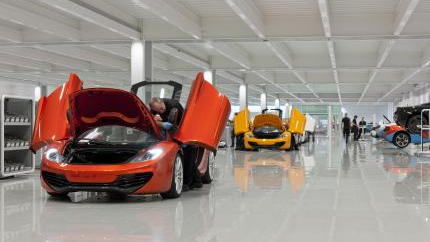 McLaren Production Center