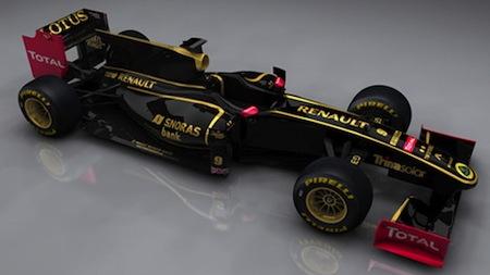 2011 Lotus Renault GP livery