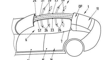 Porsche Panamera T-Top patent images