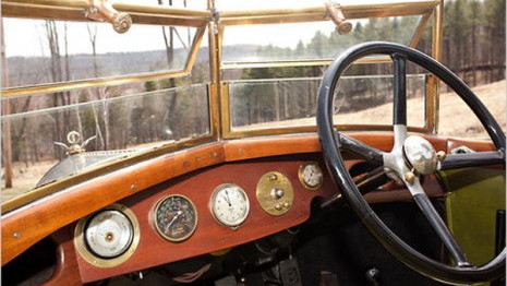 1921 Bentley 3-Liter chassis number 3