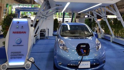 Nissan's 10 minuite rapid charger