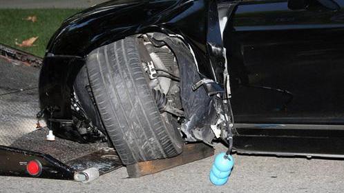 Bentley Continental GTC (wrecked by Sean Stewart)