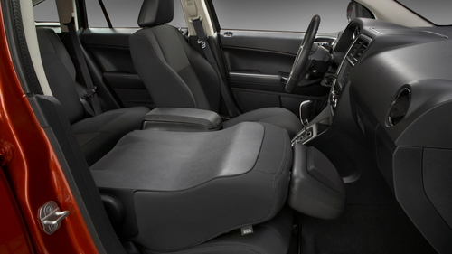 2010 Dodge Caliber - fold-down front passenger seat