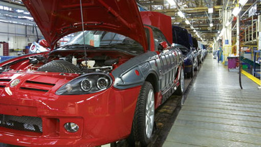 MG TF production finally restarts in UK