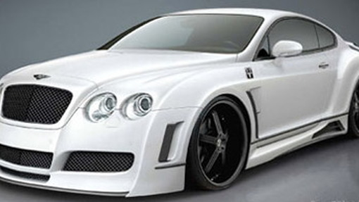 Premier4509 widebody kit for Bentley Continental GT