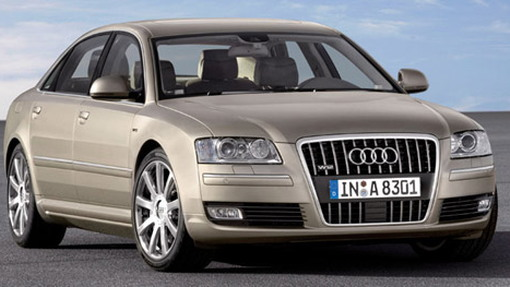 Audi A8 gets a facelift for 2008