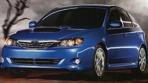The new Subaru Impreza WRX, AKA the ugliest car of the year