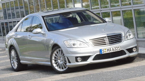 More details and photos of the Mercedes S63 AMG