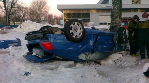 The crash took place in St. Petersburg, Russia