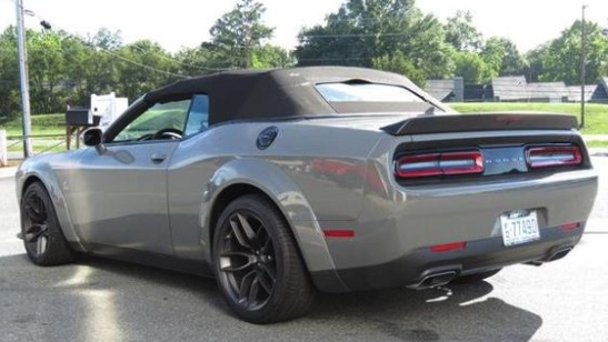 Dodge Challenger R/T Scat Pack Widebody convertible Photo: Keffer Dodge