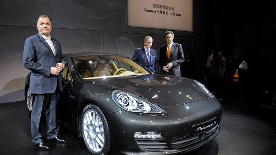 Porsche Panamera Unveiling