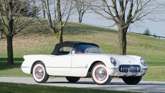 The 1953 Corvette, chassis number five. Image: RM Auctions