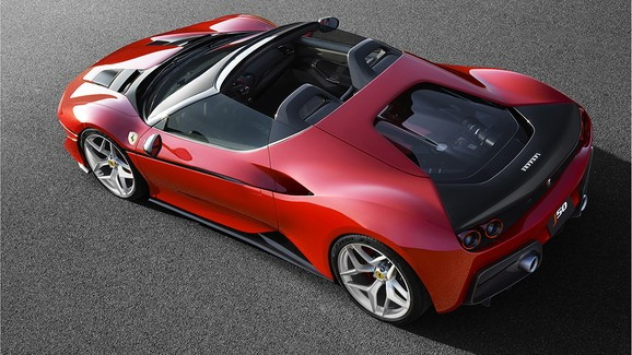 Ferrari J50 celebrates 50 years of Ferrari in Japan