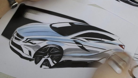 2012 Mercedes-Benz A-Class sketch leaked?