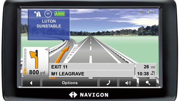 Navigon 2150 Max traffic-enabled satnav