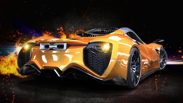 AMV-R Supercar Concept
