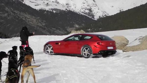 Ferrari FF spotted in the wild